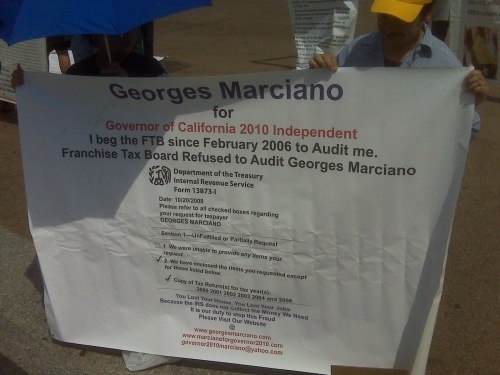 Marciano Tax Shot